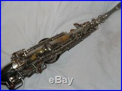 1925 Conn New Wonder Pre-Chu Alto Sax/Saxophone, Original Plating, Plays Great
