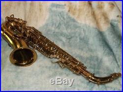 1928 Conn New Wonder II Chu Alto Sax/Saxophone, Nice, Plays Great