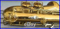 1933 Conn Transitional Era 6M style Alto Sax