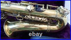 1964 Selmer Mark VI Alto Sax W\Matching neck & Original TriPack Case new pads