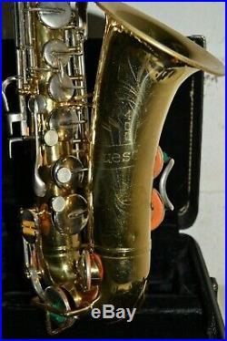 1970s Vintage BUESCHER 400 Alto Sax in Original Lacquer GOOD PLAYER # 622537