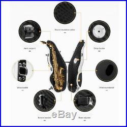 1x Alto Saxophone Mute Sax Partner Sax Silencer Saxophone Accs Parts White