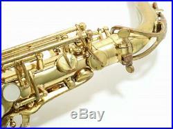 A. Selmer Paris Mark VI 6 Alto Saxophone Sax 1972 Vintage Serviced Tested Used