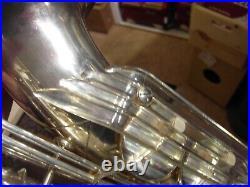 Altsaxophon Keilwerth The New King Bj 1956 Silber Engelsflügel sax Saxophon alto