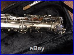 Antigua Alto Sax AS4240CN Nickel Body And Keys