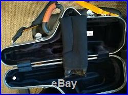 BAM LA DEFENSE CABINE ALTO SAX CASE (Brushed Aluminum)