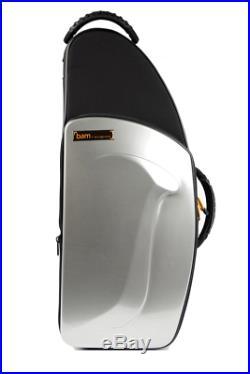 BAM New Trekking Alto Sax Case Brushed Aluminum TREK3021SA