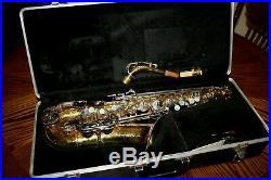 BUNDY II Alto Saxophone The Selmer Company SAX Mouthpiece + Hard Carrying Case
