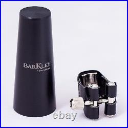 Barkley Vintage ZZ EcoLine White Alto Sax Mouthpiece w Ligature & Cap