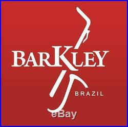 Barkley Vintage ZZ EcoLine White w Ebony Alto Sax Mouthpiece Made in Brazil