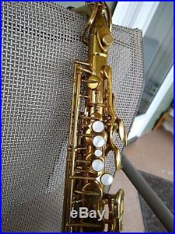 Beautiful 1954 The Martin Alto Sax (Original Martin Case)