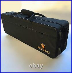 Black Sterling Alto Sax Eb Saxophone BRAND NEW Case FREE EXPRESS POST