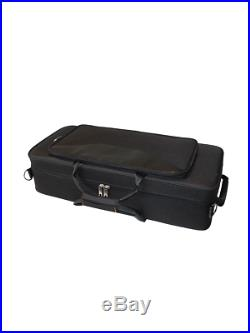Brand NEW Syrinx SAS401 Student Alto Sax Saxophone Black Nickel Warranty