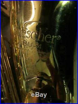 Buescher BU-4 Alto Saxophone/Sax withHard Case