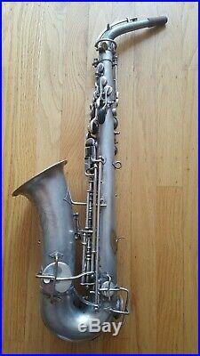 Buescher Elkhart Ind True Tone low pitch Alto Sax Saxophone