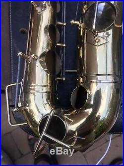 Buescher Gold Plated True Tone Alto Sax! Plays Like a Dream! Wow