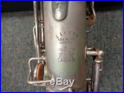 Buescher True Tone Alto Sax 1910-1911