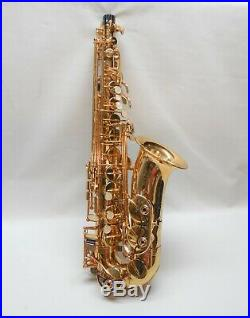 Buffet Crampon A Paris Alto Sax with Selmer C MP, Clean, Great Pads, Plays Well