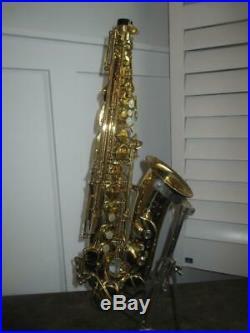 C. G. Conn 25M Professional Alto Saxophone With Case SUPER CLEAN 25 M Sax