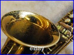 C. G. Conn 26M VIII STAMP alto sax with original lacquer 300,000 series Gloger Ne