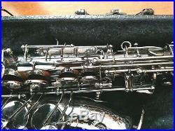 Cannonball Big Bell Stone Series A5B Polished Black Nickel Professional Alto Sax