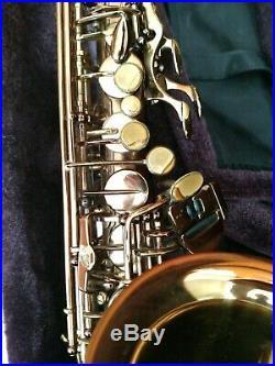Cannonball Vintage Reborn Limited Edition Lady Godiva Professional Alto Sax/Case