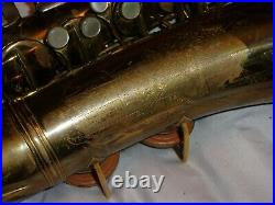 Conn 26m Connqueror VIII Alto Sax/Saxophone, Silver Inlay, Plays Great