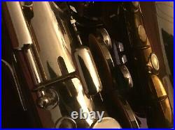 Conn 6M Alto Sax Lady Face Microtuner Underslung Octave Key, Recently Serviced