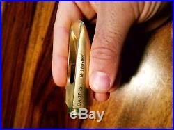 Dany Alto Sax Custom Handmade Metal Mouthpiece