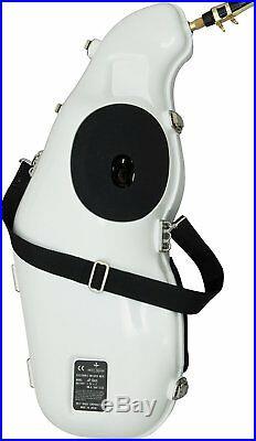 E-sax Practice Mute System for Alto Saxophone II White FREE ship Worldwide