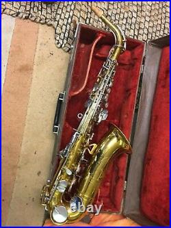 H N White King Cleveland Alto Sax Early 1960s Vintage
