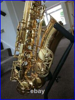 Jupiter 500 alto saxophone sax. Vgc. Well maintained. Plays a treat