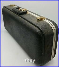King 660 Alto Sax Saxophone Brass with Hard Case & Mouthpiece Vintage Student