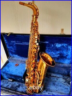 King Zephyr alto saxophone sax 1957
