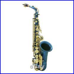 LADE Professional Brass Alto Saxophone Sax Musical Wind Instrument Beginners