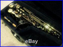 L. A. Sax Professional Alto Saxophone with Selmer C Star Mouthpiece, MSRP $2695