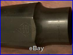 MEYER New York USA 4 S Medium Alto Saxophone Mouthpiece RARE Vintage NY Sax