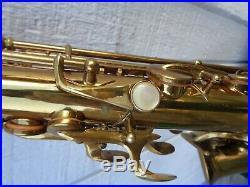 MINTY 1945 Buescher Big B alto sax professionally overhauled