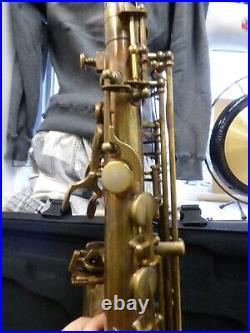 MINT Selmer AS42UL Unlacquered Alto Sax w\caseConsider it NEW