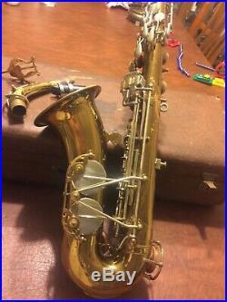 Martin Alto 1939 Com II Lion And Crown Org Sax Saxophone