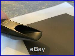 Meyer New York #6M Hard Rubber Alto Sax Mouthpiece 100th Anniversary Model