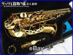 Near Mint YANAGISAWA soprano Yanagisawa A902 Alto Sax Bronze Brass Japan YSYS1