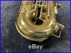 Original Lacquer Buescher 400'Top Hat & Cane' Alto Sax Serial # 323762