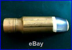 Otto Link double ring. 075 tip alto sax mouthpiece