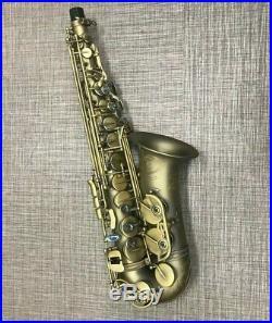 P. Mauriat PMXA-67RDK Alto Saxophone Rolled Toneholes Dark Lacquer NEW DEMO Sax