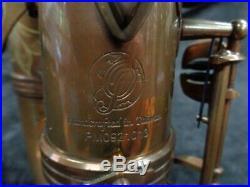P. Mauriat System 76 Custom II Alto Sax UNLACQUERED No High F# SerialPM0921013
