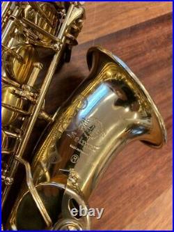 Pre Owned SELMER, Paris MARK VII ALTO Sax Nr. 251986 Repadded PERFECT