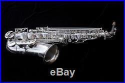 Rampone & Cazzani New Alto sax Hand Made Model R1 Jazz Silver Plate