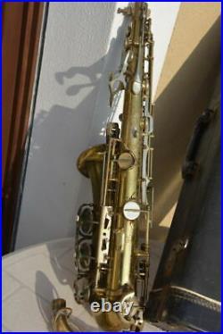 Rare Leblanc System Alto Saxophone, Overhauled! Fabulous Sound! Sax Sassofono