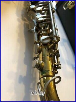 Rene Duval Alto Saxophone Sax With Yamaha Allegro Case